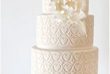 White Wedding Cake Collection