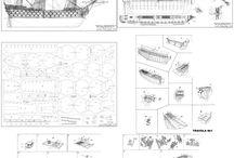 planos de barcos a escala