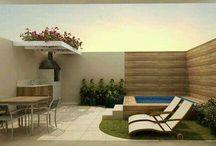 piscinas/terraços