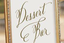 Dessert table matri