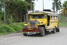 Jeepneys in the Philippines