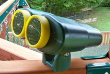 Climbing Frame Accessories / We know better than anyone that children love variety, that's why we try to include as many different features on our climbing frames and swing sets as possible. To offer that little bit more variety and enjoyment we also sell accessories to compliment your climbing frame purchased from us.