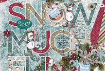 Hello Winter / Winter is already knocking on our door and this 6-pack + FWP is filled with variety beautiful snowflakes, snowmen, birds, tags and much more.  The Hello Winter collection  is perfect to celebrate those winter memories and still versatile enough to capture your everyday too.