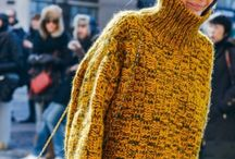 WINTER KNITS / Knitwear- the must have wardrobe piece for the cold