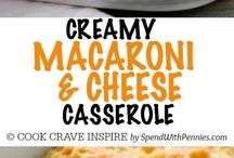 Easy Casserole Recipes / Easy Casserole Recipes perfect for busy weeknights or make ahead dinners!
