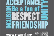 """Spread the Word to End the Word / This is a campaign to help eliminate the use of the """"R-word"""""""