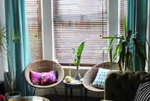 What do you do with Turquoise Curtains?!