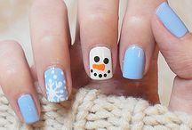 Νυχια!!!!! / Τι ωραία χειμωνιάτικα νύχια !!!!!!!!
