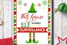 Elf on the Shelf Ideas and Printable / Check out some fun activity ideas and printables for your #elfontheshelf.