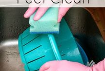 Cleaning Tips and Solutions / by Kim Christie