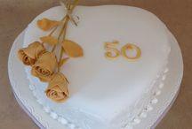 My Anniversary cakes.