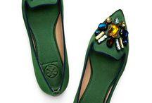 Düz ayakkabılar...