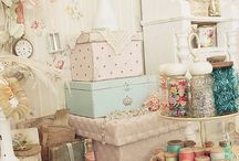 Shabby chic / Home decor, interior design