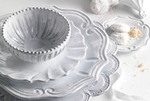 Beautifull White / Beautiful white dishes, table accessories