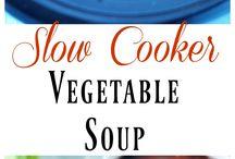 Vegetable Soup Slow Cooker