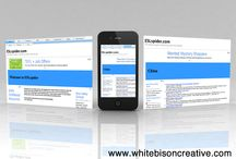 One Page Business Websites / Some of the websites we have done. Made by White Bison Creative.
