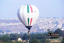 Vuelo en Globo / Volar en globo aerostático es una experiencia que no se puede comparar a ningún otro medio de vuelo, es la sensación de flotar en el aire, de sentir la libertad de poder ver todo lo que se va dejando mientras vuelas.