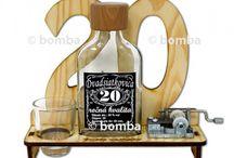 Alkoholické darčeky / Originálne darčeky k narodeninám a sviatkom pre milovníkov alkoholu nájdete na www.kupma.sk