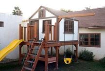 Outdoor kids house
