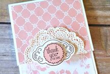 Stampin new color cards
