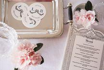Minutas y menús para bodas (Loveratory) / Diseños de minutas para bodas by Loveratory  (www.loveratory.com)