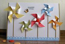 SU; Pinwheel cards