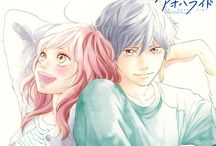 Ao haru ride / OMG!!! I freaking love this animee wwww Kou is just so adorable and perfect asdfjkldjgd