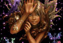 Fairies, engels, butterflys