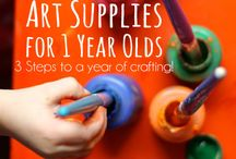 Crafts for one year olds