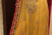 mehndi dresses indian
