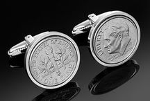 1986 / All these are genuine coins from the year 1986 which we have made into Cufflinks