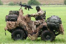 Military tactical Atv - mule - polaris -