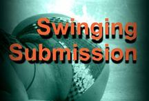 Swinging Submission / Pins that pertain the book and the characters in it.