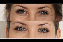 doğal göz altı kırışıklıkları - çizgileri ve morlukları