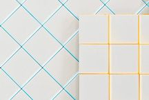 The World of Tile / A board having to do with all things tile, different types of tile, to grout and grout color.