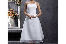 Wedding dresses / Tea length, knee length...