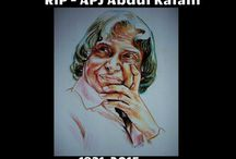 "A special tribute to APJ Abdul Kalam.... / The board consist of some great life changing words said by our former president. ""Deeply saddened at the demise of APJ Abdul Kalam"""