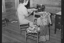 Vintage Sewing Photos