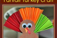 Turkey day crafts / by Leah Barnes