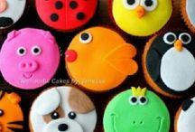 Cup cake versieren