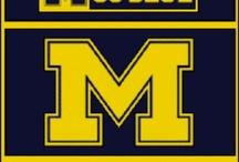 Go Blue / Michigan University  / by Sally Rider