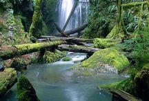 Waterfalls - breath-taking / Stunning images of waterfalls.