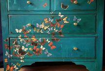 Декорирование мебель