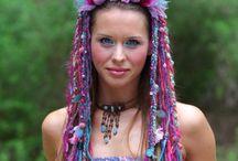 Amazing Headpieces - tribal, gypsy, boho, faery, totally awesome headwear! / Amazing Headpieces - tribal, gypsy, boho, faery, totally awesome headwear!
