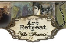Art Retreat at The Prairie - Fall 2015 / Join us at The Prairie by Rachel Ashwell for our fun-loving and inspirational Art Retreat at The Prairie - Fall 2015. Incredible artist/instructors will come together to teach creative women and men - mixed-media and jewelry classes.  / by Barb Solem