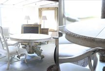 Gueridon Tables / gueridon dining tables, gueridon side tables, round tables, occasional tables