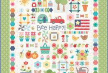 Bee Happy Quilt Sew Along / Bee Happy Quilt Sew Along with Lori Holt