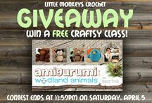 Crochet Giveaways and Promos