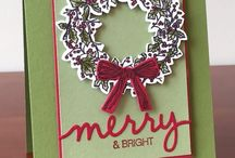 Stampin' Up! ~ Peaceful Wreath / Inspiration for Stampin' up!'s Peaceful Wreath
