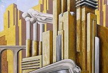 Art Deco paintings inspiration